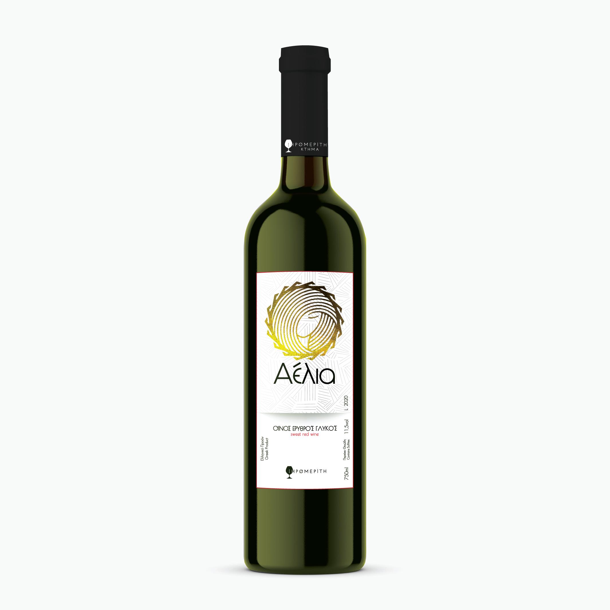 Ερυθρός Γλυκός Αέλια - Κτημα Ξηρομερίτη - Κρασί