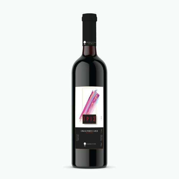 Ερυθρός Ξηρός Ίρις 2019 - Κτήμα Ξηρομερίτη - Κρασί